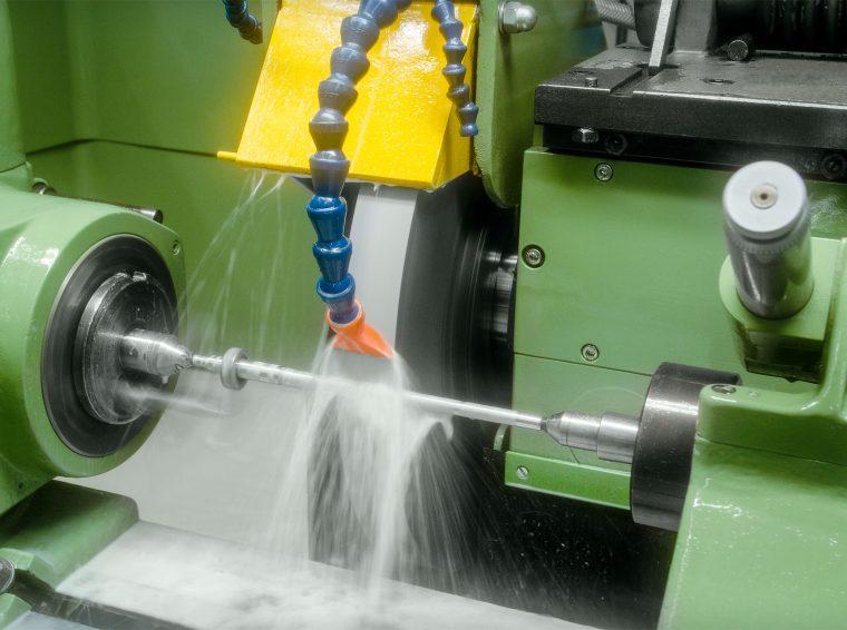 Optimierung der Schleifmaschine